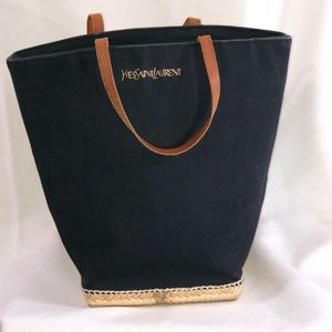 Vintage YVES SAINT LAURENT Very Small Tote
